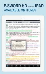 e-Sword HD for the iPad